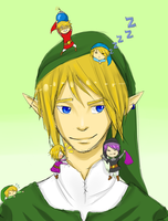 Attack on Link by AlliTheHunter