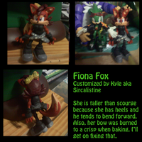 Fiona Fox custom by SirCalistine