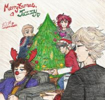 Merry X-mas my little sis by Kiyomi-chan16