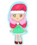 Girl Elf Chibi by dapple-pie