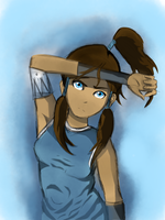 LEGEND OF KORRA: Korra :WIP: [UPDATED] by ZolaLink