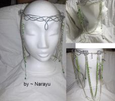 elven crown green by Narayu