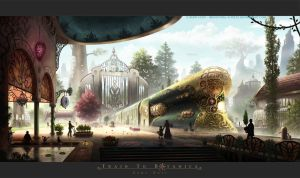 Train To Botanica by Industrial-Forest