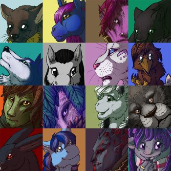 Avatars for friends by Rait-StormDragoness