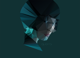Quorra Poly by error-23