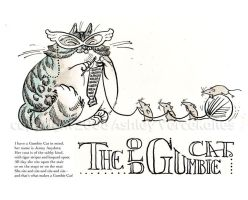 The Old Gumbie Cat by littlecrow