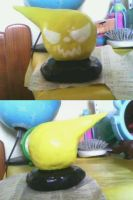 clay work - soul eater logo by animecat33
