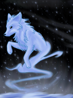 Ice Wolf by twistedCaliber