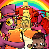 Superjail is Magic by TheKnysh