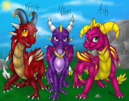 Fijir- Nina- Ash-Colored by Amethyndria