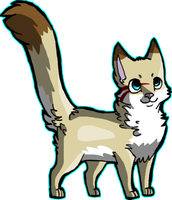 Thornpaw's Design. by thedoomedkitteh