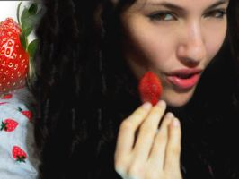 strawberry and me by maroline