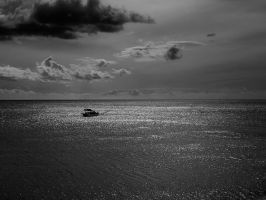 silver sea by VaggelisFragiadakis