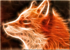 Translucent Fox by PorkyMeansBusiness