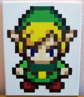 Pixel Link by doll-haus