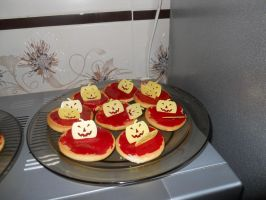 Halloween cookies by PeCe95