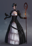 Lady of the Crows by the-searching-one