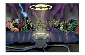 Last Supper of Gotham by thecreatorhd