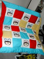 Cute Charas Quilt by pyonicist