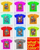 LITTLE JUNIOR TEES PREVIEW by WOLVERINE76