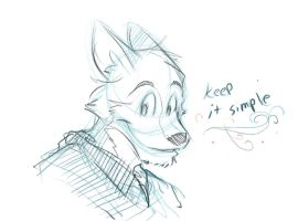 Simple sketch 1 by vincentwolf