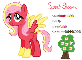 Sweet Bloom - MLP:FiM OC by zafara1222