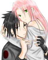 AT - SasuSaku by Dark1408