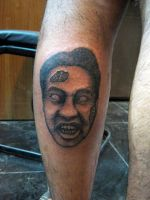 horror portrait (schedel eye tattoos and artworks) by Deepakshishodia