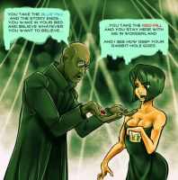 Morpheus At The Club by JRTribe