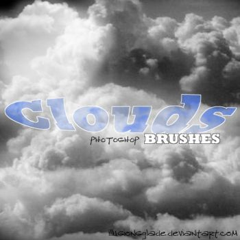 Clouds Brush Set by IllusionsGlade
