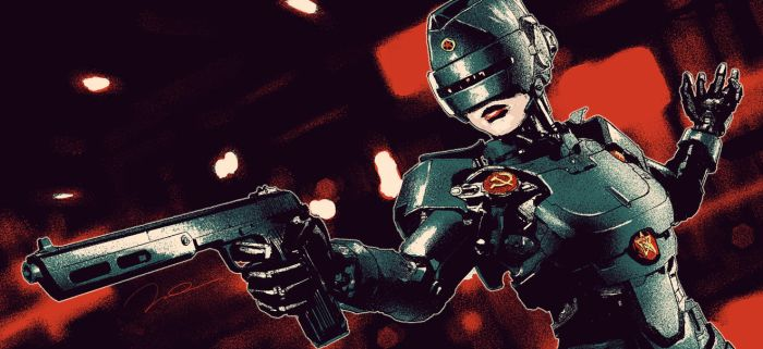 SOVIET ROBOCOP GIRL TOKAREV TR99 BOX ART V2 by AldgerRelpa