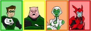Green Lantern: The Animated Series by HeroOfZeros