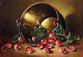 cherries by dusanvukovic