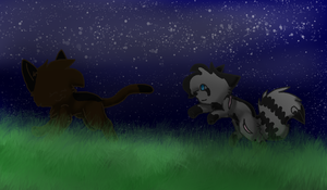 A Run Through Tall Grass by Starshine1225