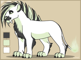 lion adopt (CLOSED) by Vexlovely
