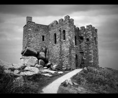 Carn Brea Castle by MerlinsArtwork