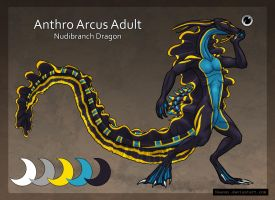 Nudibranch Dragon Anthro Adopt Auction A [SOLD] by Naeomi