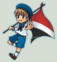 Chibi Sealand by Kata-elf