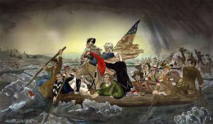 Whos Crossing the Delaware by crossstreet