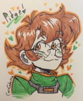 PIDGE (Voltron: Legendary Defender) by CocoCabanna