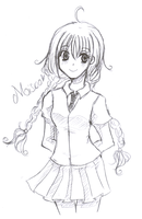 Misao - 4 Sketch by Neko-Poche