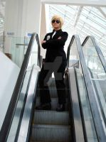 Dave Strider on an Escalator by simple-minded-saul