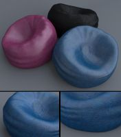 Free Leather Beanbag by LuxXeon