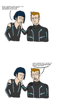 Tron SPOILERS by In-The-Machine