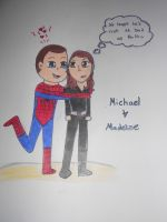Michael and Madeline (Spidy and Natsha) by JediSkygirl