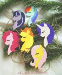 MLP FIM Ornaments by Nika-N