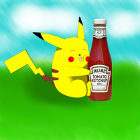 Everyone's Favorite Ketchup by Mega-X-stream