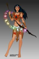 X-Girl Pocahontas by msbrit90