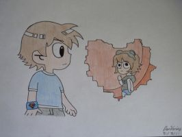 Scott Pilgrim Fan Art by xXDanVerineXx