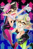 Squid Sisters by ravefirell